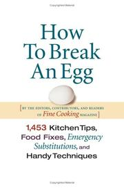 Cover of: How To Break An Egg