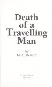 Cover of: Death of a travelling man