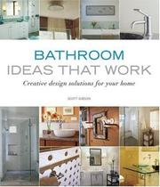 Cover of: Bathroom Ideas that Work (Ideas That Work)