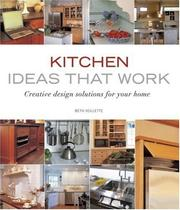 Cover of: Kitchen Ideas that Work (Ideas That Work)