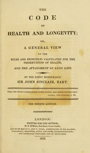 Cover of: The code of health and longevity