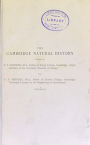 Cover of: The Cambridge natural history...