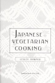 Cover of: Japanese vegetarian cooking