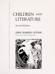 Cover of: Children and literature