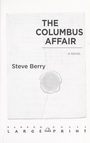 Cover of: The Columbus affair