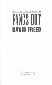 Cover of: Fangs out