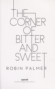Cover of: The corner of bitter and sweet