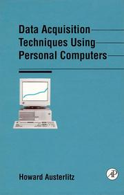 Cover of: Data acquisition techniques using personal computers