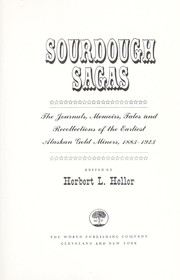 Cover of: Sourdough sagas; |
