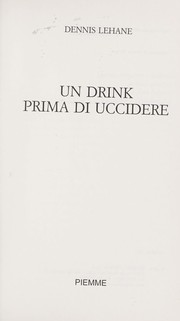 Cover of: Un drink prima di uccidere
