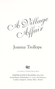 Cover of: A Village Affair