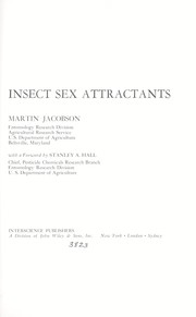 Cover of: Insect sex attractants