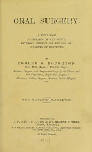 Cover of: Oral surgery | Edmund W. Roughton