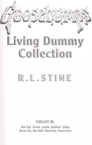 Goosebumps living dummy collection by
