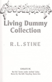 Cover of: Goosebumps living dummy collection |