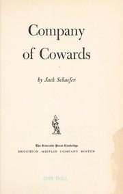 Company of cowards.