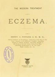 Cover of: The modern treatment of eczema