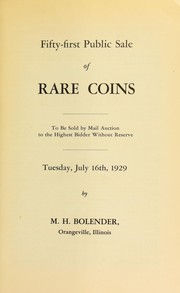 Fifty-first public sale of rare coins