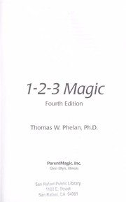 Cover of: 1-2-3 Magic | Thomas W. Phelan