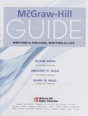 Cover of: Writing for college, writing for life