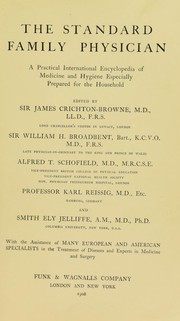 Cover of: The standard family physician