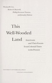Cover of: This well-wooded land |