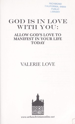 God is in love with you : allow God's love to manifest in your life today by