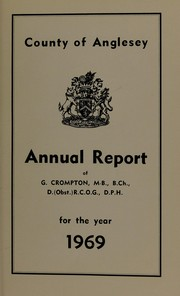 Cover of: [Report 1969] | Anglesey (Wales). County Council. no2003102100