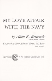 Cover of: My love affair with the Navy