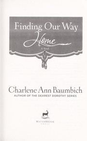 Cover of: Finding our way home