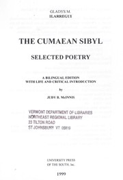 Cover of: The Cumæan Sibyl