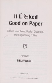 Cover of: It looked good on paper