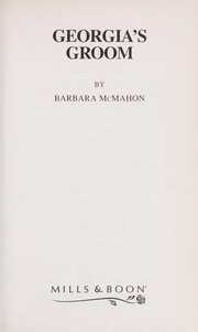 Cover of: Georgia's Groom | Barbara McMahon