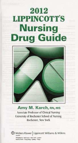 Nursing drug handbook: books | ebay.