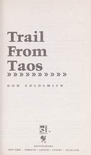 Cover of: TRAIL FROM TAOS