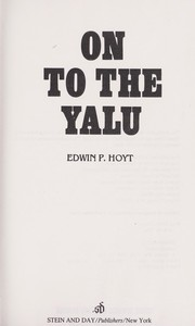 Cover of: On to the Yalu