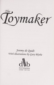 Cover of: The toymaker