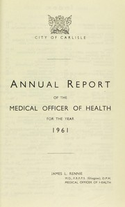Cover of: [Report 1961]