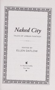Cover of: Naked city