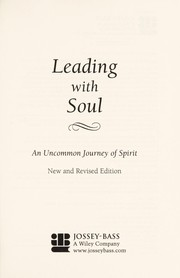Cover of: Leading with soul | Lee G. Bolman
