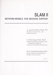 Cover of: Slam II network models for decision support | A. Alan B. Pritsker