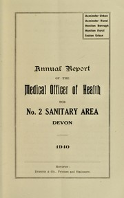 Cover of: [Report 1940]