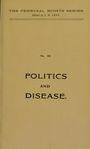 Cover of: Politics and disease | A. Goff