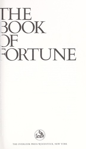 The book of fortune : poems by