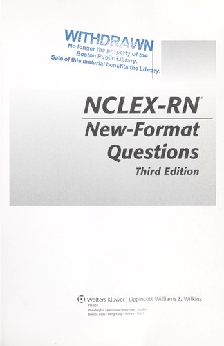 NCLEX-RN new-format questions by