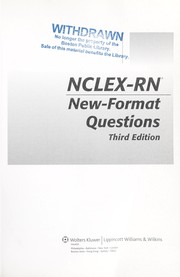 Cover of: NCLEX-RN new-format questions |
