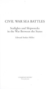 Cover of: Civil War sea battles