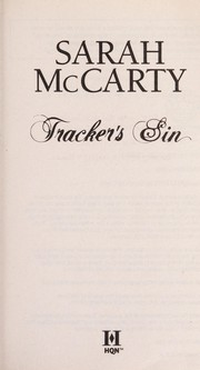 Cover of: Tracker's sin
