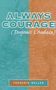 Cover of: Always courage =