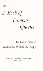 Cover of: The book of famous queens
